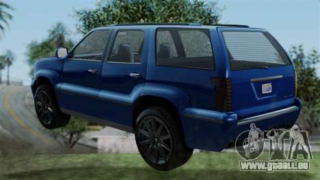 GTA 5 Albany Cavalcade v2 IVF pour GTA San Andreas laissé vue