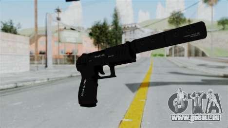 GTA 5 Combat Pistol für GTA San Andreas zweiten Screenshot