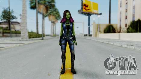 Marvel Future Fight - Gamora pour GTA San Andreas deuxième écran