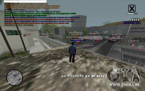 WH Nick Name für GTA San Andreas zweiten Screenshot