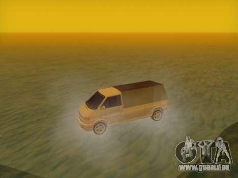 Volkswagen T4 Caravelle 35 Cup (1997) [Вездеход] pour GTA San Andreas sur la vue arrière gauche