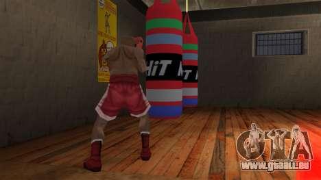 New Punching Bag pour GTA San Andreas