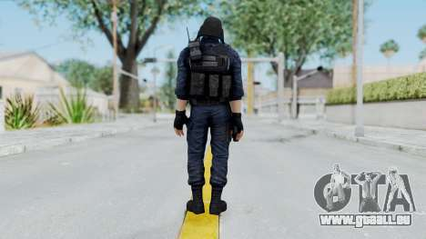 GIGN 1 No Mask from CSO2 für GTA San Andreas dritten Screenshot