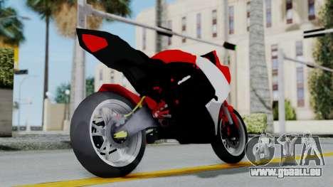 Yamaha YZF-R25 YoungMachine Concept pour GTA San Andreas vue de droite