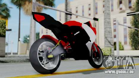 Yamaha YZF-R25 YoungMachine Concept für GTA San Andreas rechten Ansicht