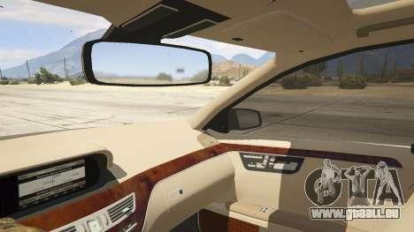 2011 Mercedes-Benz S600 Guard Pullman für GTA 5