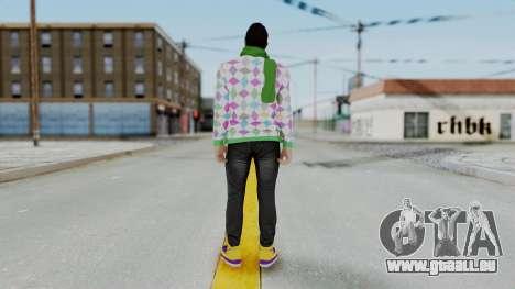 GTA Online Skin (DaniRep) pour GTA San Andreas troisième écran