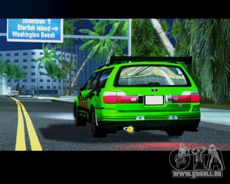 Nissan Stagea Tunable pour GTA San Andreas vue de droite