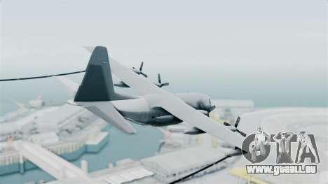 KC-130 Air Tanker für GTA San Andreas linke Ansicht
