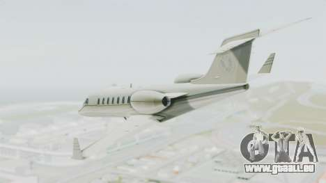 GTA 5 Luxor Deluxe pour GTA San Andreas vue de droite