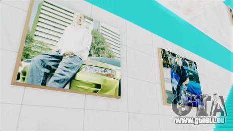 SF Paul Walker of Always Evolving Car pour GTA San Andreas deuxième écran