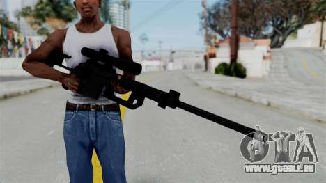 M2000 CheyTac Intervention without Stands pour GTA San Andreas