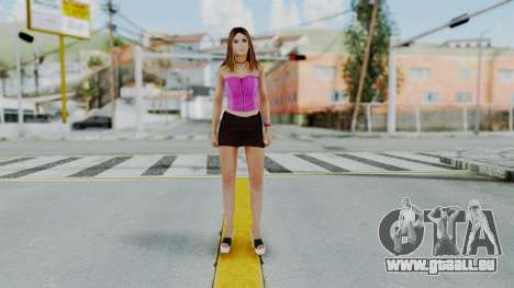 GTA 5 Hooker 01 v2 pour GTA San Andreas deuxième écran
