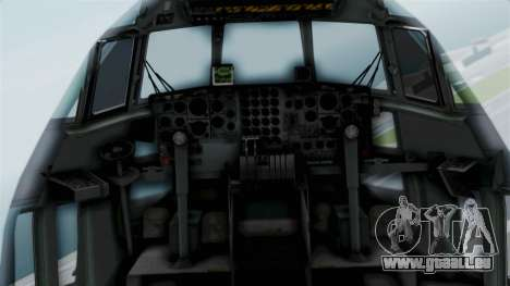 KC-130 Air Tanker für GTA San Andreas Rückansicht