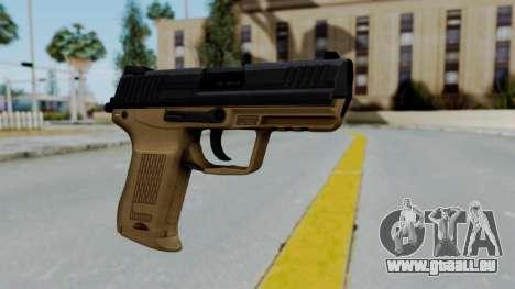 HK45 Sand Frame für GTA San Andreas