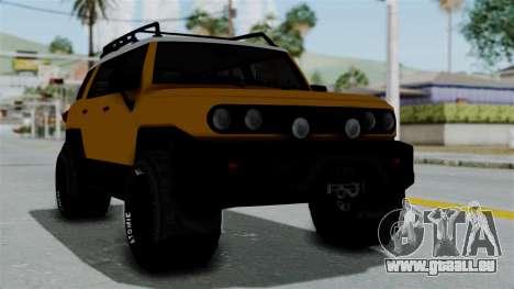GTA 5 Karin Beejay XL Offroad pour GTA San Andreas
