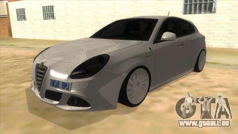 2011 Alfa Romeo Giulietta für GTA San Andreas