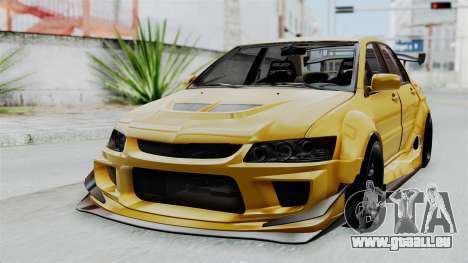 Mitsubishi Lancer Evolution IX MR Edition für GTA San Andreas