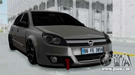Opel Astra pour GTA San Andreas