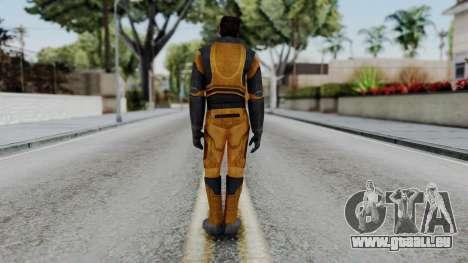 Gordon Freeman Skin pour GTA San Andreas troisième écran
