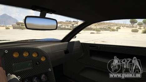 GTA 5 Touhou Project Remilia Jester arrière droit vue de côté