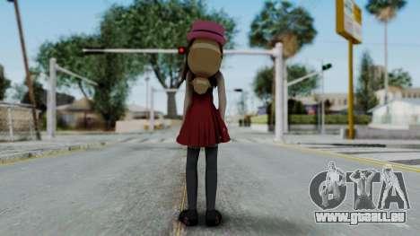 Pokémon XY Series - Serena für GTA San Andreas dritten Screenshot