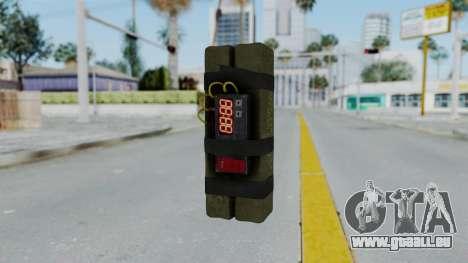 GTA 5 Stickybomb für GTA San Andreas