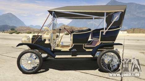 Ford T 1910 Passenger Open Touring Car für GTA 5