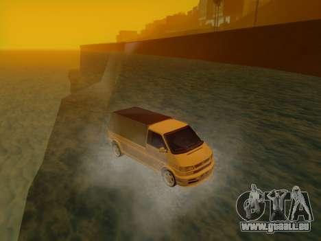 Volkswagen T4 Caravelle 35 Cup (1997) [Вездеход] pour GTA San Andreas vue de droite