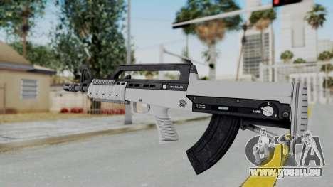 GTA 5 Bullpup Rifle - Misterix 4 Weapons pour GTA San Andreas deuxième écran