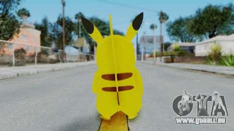 Dancing Pokemon Band - Pikachu pour GTA San Andreas troisième écran