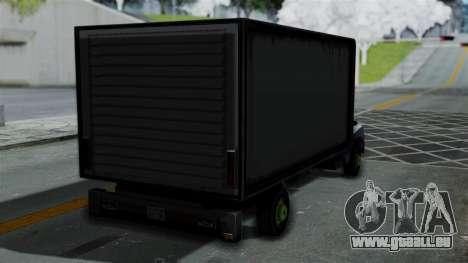 Yankee with StickerBombing pour GTA San Andreas laissé vue