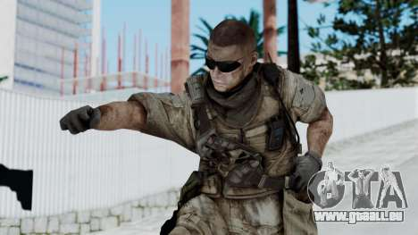 Crysis 2 US Soldier 2 Bodygroup B pour GTA San Andreas