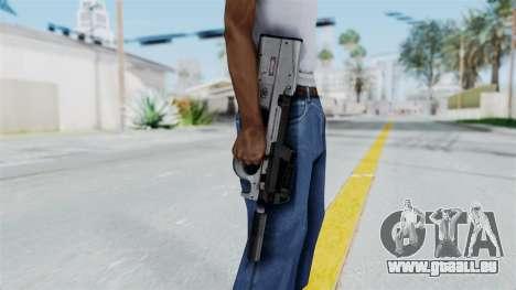 P90 Grey pour GTA San Andreas troisième écran