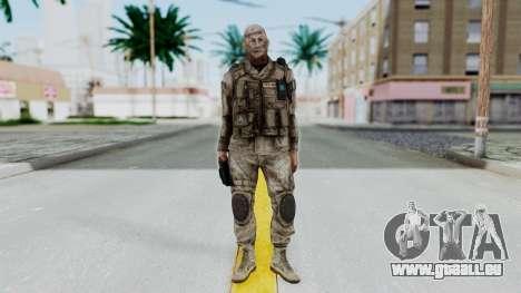 Crysis 2 US Soldier FaceB2 Bodygroup A pour GTA San Andreas deuxième écran