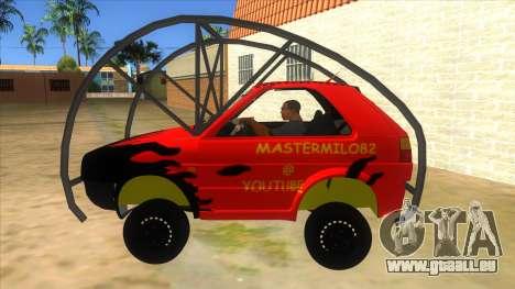Volkswagen Golf MK2 RollGolf für GTA San Andreas linke Ansicht