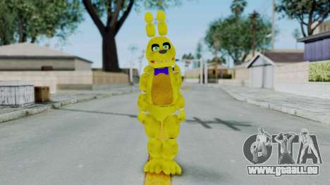 FNAF Spring Bonnie für GTA San Andreas zweiten Screenshot