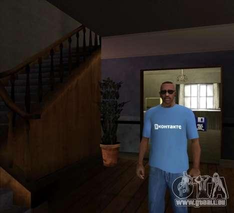 T-Shirt VKontakte pour GTA San Andreas