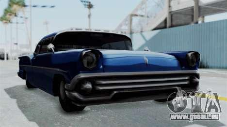 Augmentée De La Tornade pour GTA San Andreas sur la vue arrière gauche