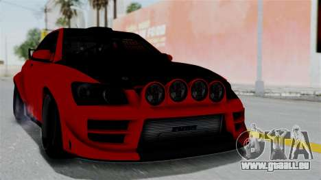 GTA 5 Karin Sultan RS Rally pour GTA San Andreas
