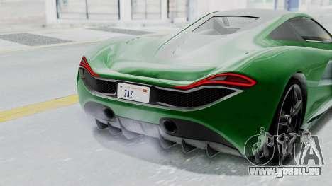GTA 5 Progen T20 v2 IVF für GTA San Andreas Innenansicht