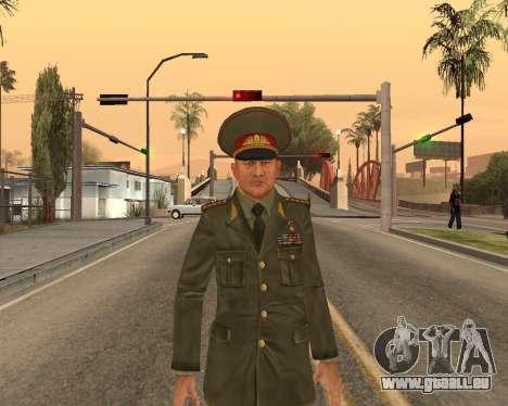 Russische Armee Skin Pack für GTA San Andreas neunten Screenshot