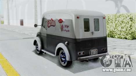 Divco 206 Milk Truck 1949-1955 Mafia 2 pour GTA San Andreas laissé vue