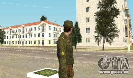 Marineinfanterie der Streitkräfte für GTA San Andreas dritten Screenshot