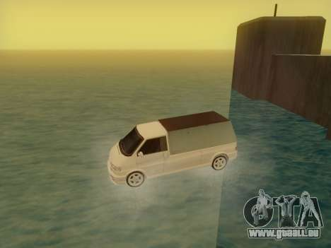 Volkswagen T4 Caravelle 35 Cup (1997) [Вездеход] pour GTA San Andreas