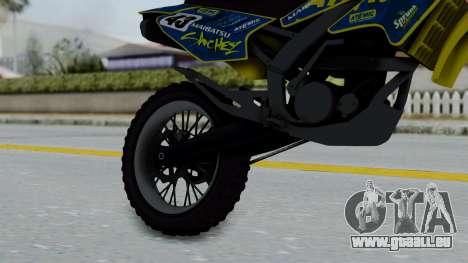 GTA 5 Atomic Sanchez für GTA San Andreas rechten Ansicht