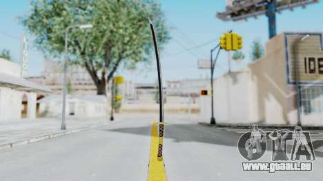 Samurai Sword v1 pour GTA San Andreas deuxième écran