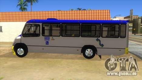 CAMION R622 pour GTA San Andreas sur la vue arrière gauche