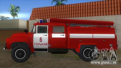 ZIL 130 AC-40 pour GTA San Andreas laissé vue