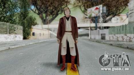SWTFU - Luke Skywalker Spirit Apprentice Outfit pour GTA San Andreas deuxième écran
